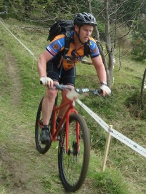 Mike at the Endura Series round 1