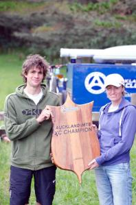 AKMTB XC Champions 2012, Graham Norman and Naomi Wright - Photo by Dale Anthony
