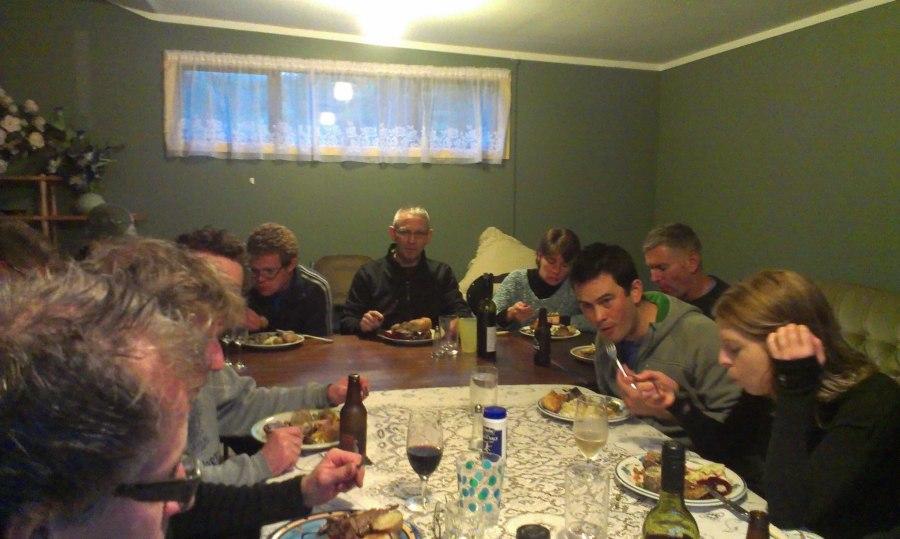 14 hungry mountain bikers