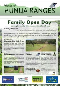 Friends of Hunua Ranges Opening Day
