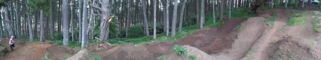 Puni Dirt Jump Line Upgrade