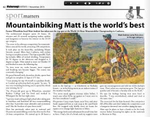 Matt Andrew Article
