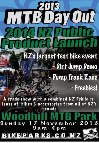 Woodhill MTB Day Out 2014