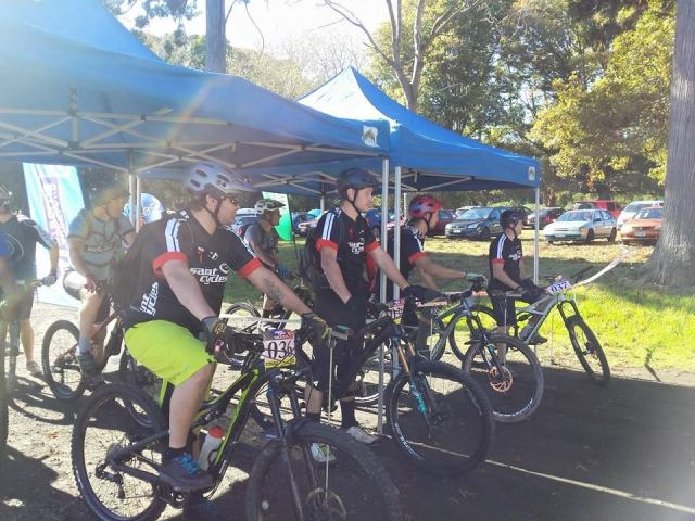 Team Saints Cycles at the 2015 Riverhead Enduro