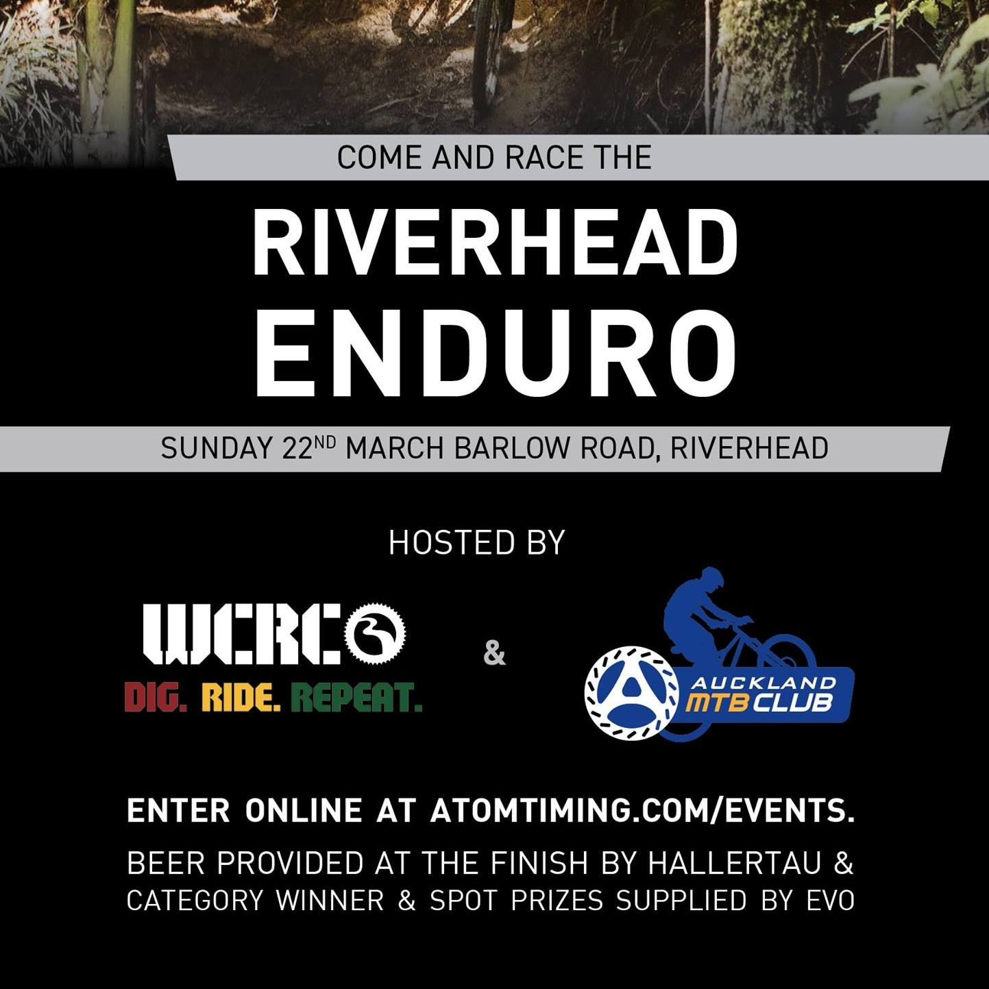 2020 Riverhead Enduro Sunday March 22nd enter online at atomtiming.com